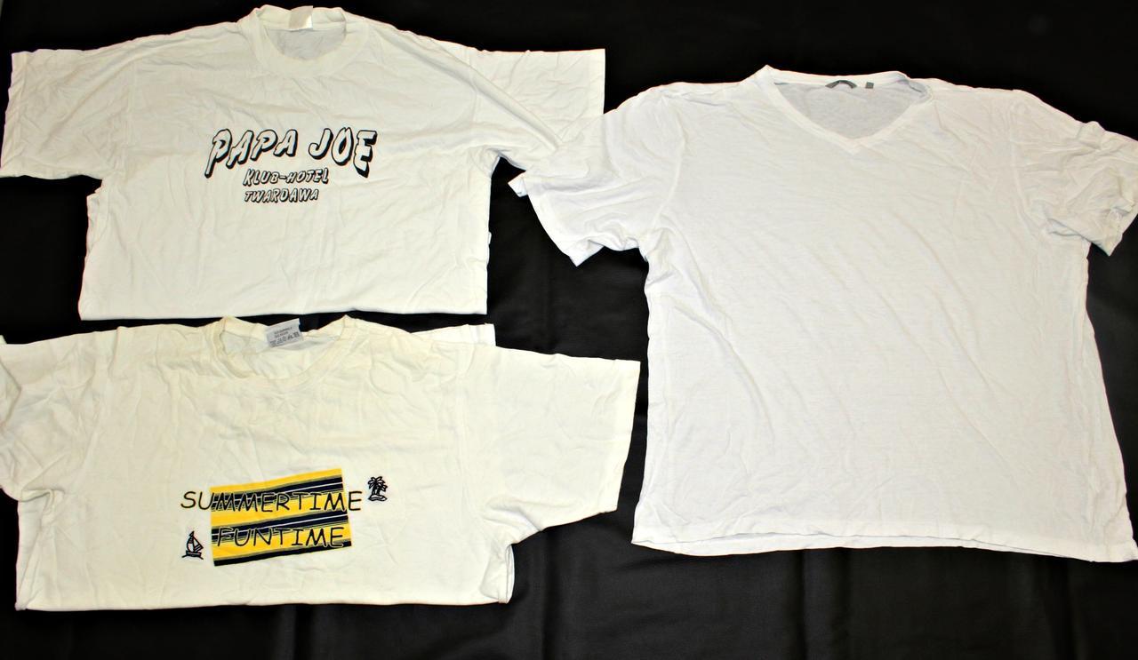 Секонд хенд белые футболки хб Оптом от 20 - 25 кг