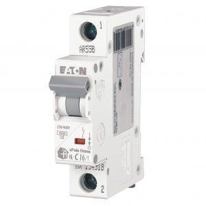 Автоматический выключатель  HL 1р 16А, С, Eaton