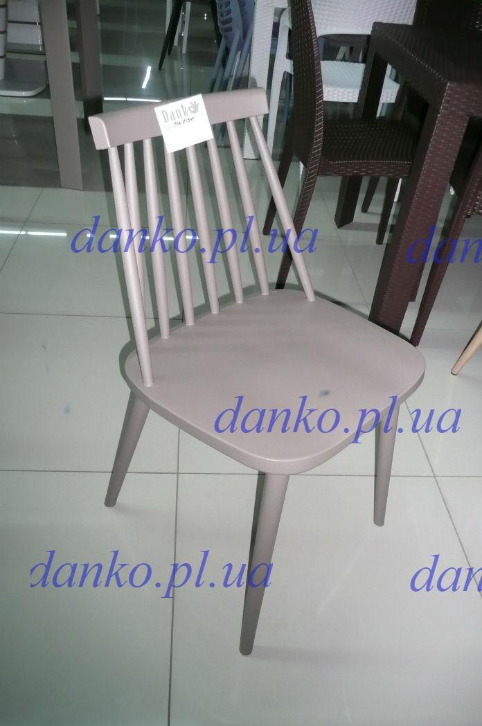 Пластиковый стул 8311E NIGHT (Ночь) от Kashtan, ножки металл