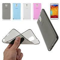 Чехол для Samsung Galaxy Note 4 N910 - HPG Ultrathin TPU 0.3 mm cover case, силиконовый