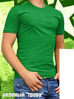 Цветные однотонные мужские футболки