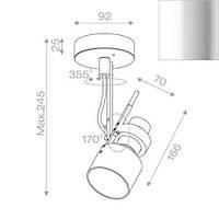 Спот светильник Aquaform 10011-23
