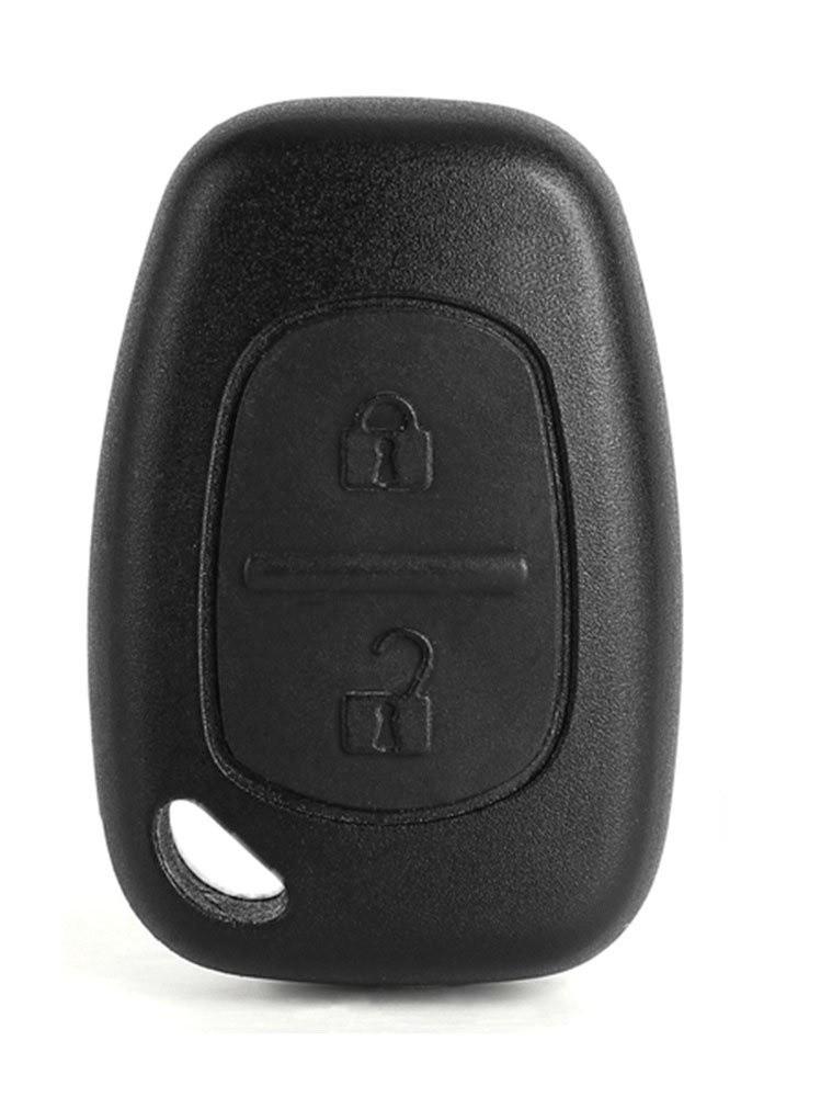 Корпус ключа Renault Master ключ Рено Мастер 3 на две больших кнопки