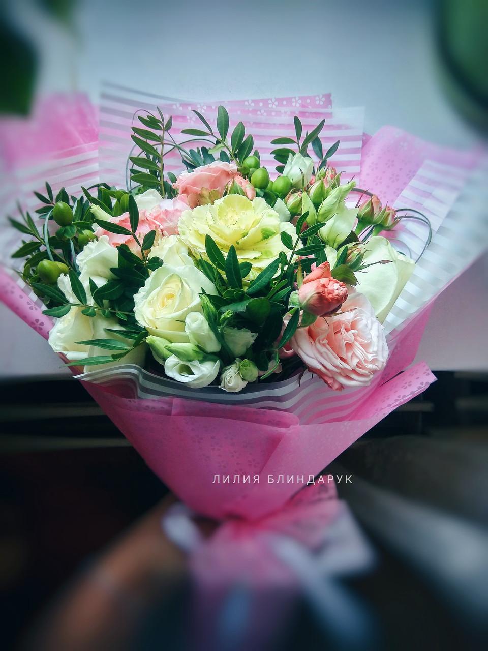 """Букет цветов """"Глоток свежести"""""""