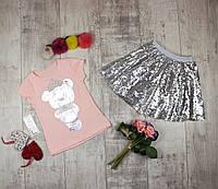Костюмы детские для девочки на лето Neon 1465, фото 1