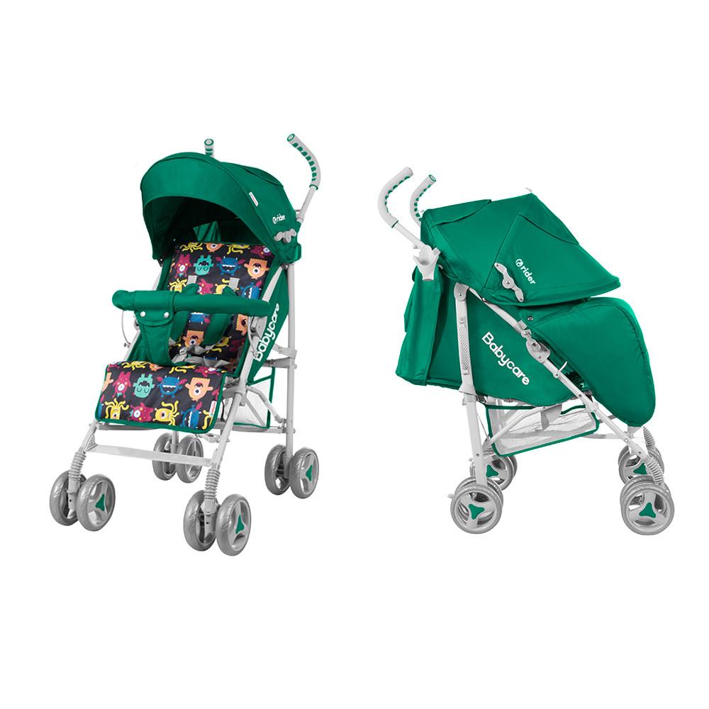 Детская прогулочная коляска  трость BABYCARE Rider BT-SB-0002/1 Green