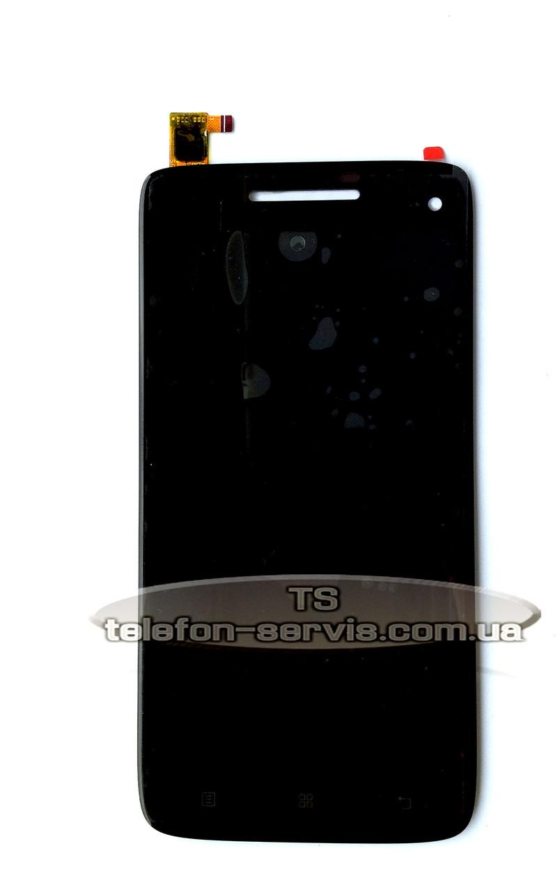 Дисплей Lenovo S960 Vibe X, черный, с тачскрином