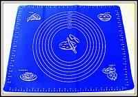 Силиконовый коврик с разметкой  47см на 37см