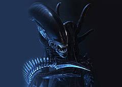 Картина Alien Чужой постер 60х40 AL 09.002
