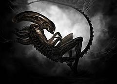 Картина Alien Чужой постер 60х40 AL 09.003
