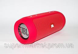 JBL Charge 2+ E2+ 10W копия, блютуз колонка c FM и MP3, красная, фото 2