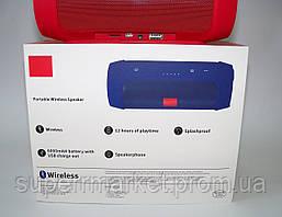 JBL Charge 2+ E2+ 10W копия, блютуз колонка c FM и MP3, красная, фото 3