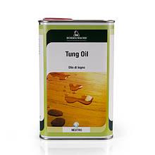 Натуральное тунговое масло, Tung Oil, Borma Wachs, Exterior Line, Прозрачное, 5 литров