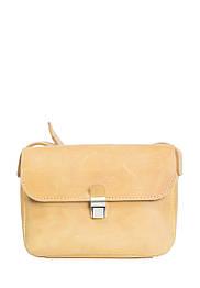 Маленькая кожаная сумочка на плечо