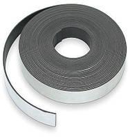 Магнитная лента с клеевым слоем, 10 м x 25.4 мм, толщина 1.5 мм
