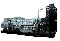 Генераторна установка Gugbir моделі GJM на базі двигуна MTU