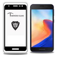 Защитное стекло с рамкой для Samsung Galaxy A2 Core