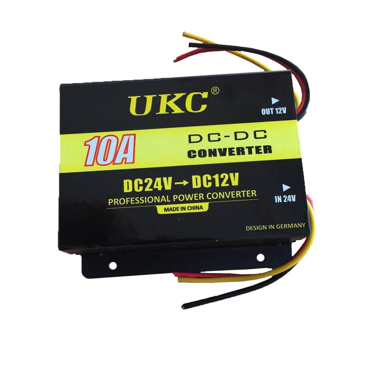 Преобразователь напряжения 24v-12v 10A UKC