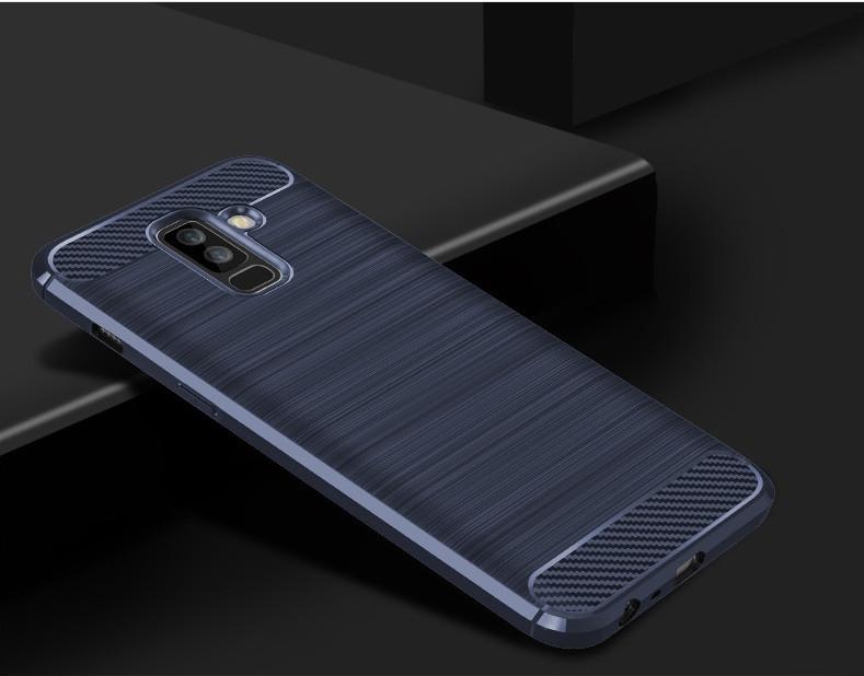 Чехол Carbon для Samsung A6 Plus 2018 ( разные цвета)