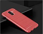 Чехол Carbon для Samsung A6 Plus 2018 ( разные цвета), фото 2