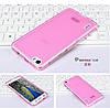 Чехол накладка для Huawei Honor 6 розовый