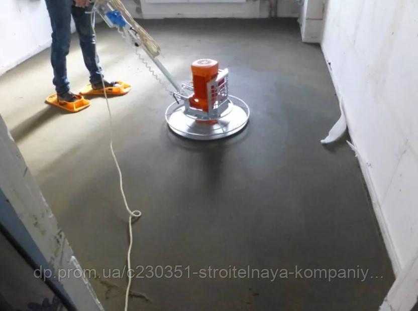 Механизированная стяжка пола (сухая/полусухая) в Днепре!