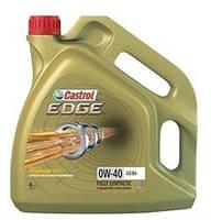 Моторное масло Castrol EDGE 0W-40 A3/B4 Titanium 4л