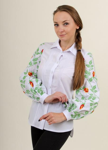 """Блуза - вышиванка """"Непокоренная"""""""