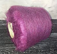 Кидмохер 65%, нейлон 35% Gruppo filpucci industrie filati фиолет меланж