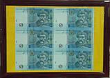 Подарочное панно с банкнотой Украины 5 гривен , фото 2