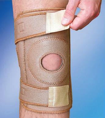Бандаж на коленный сустав разъемный MedTextile (Арт. 6058 люкс)