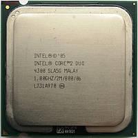 Процессор Intel Core 2 Duo E4300 SLA5G 1.80GHz 2M Cache 800 MHz FSB Socket 775 Б/У