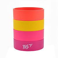 """Стакан для ручек """"YES"""" разборной """"Juicy Rings"""" 470448"""