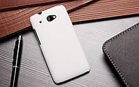 Чехол накладка бампер для HTC Desire 601 белый