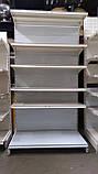 Металеві торгові стелажі б\у, фото 3