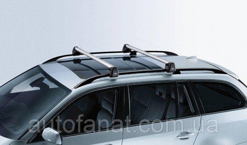 Оригинальные багажные дуги для автомобилей без рейлингов крыши BMW 5 (E60) (82710147586)