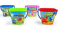 Игрушки Песочные наборы Ведро квадратное детское Wader Польша 71714