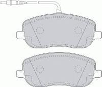 Тормозные колодки передние SCUDO JUMPY EXPERT 02-06 Samko 5SP831