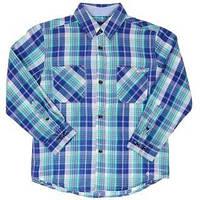 Рубашка для мальчика Durham Tiffosi Португалия клетка зелённая 848
