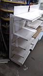 Металеві торгові стелажі б\у, фото 6