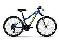 "Велосипед Haibike SEET  HardFour 1.0 24"" , рама   XS, синий/желтый/черный, 2019"