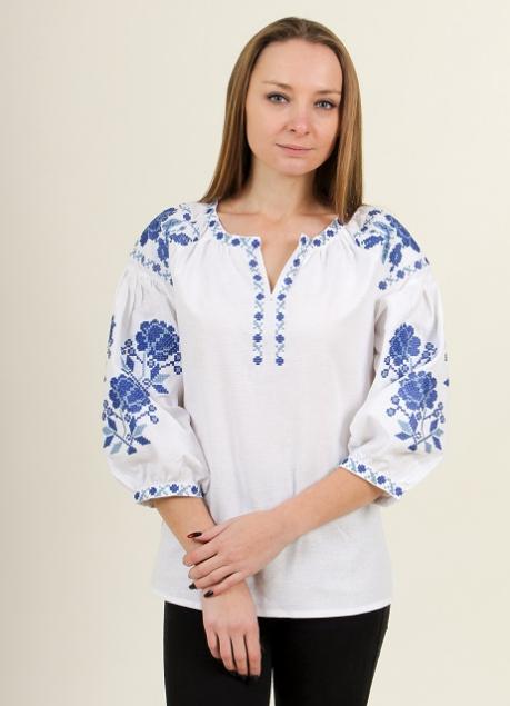 """Блуза - вышиванка """"Нежность"""""""