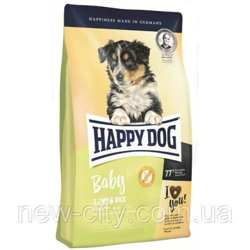 Happy Dog (Хэппи Дог) Baby Lamb Rice Корм для щенков  для средних и крупных пород, 4 кг