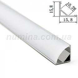 Профиль  для светодиодной ленты YF Y121(угловой)