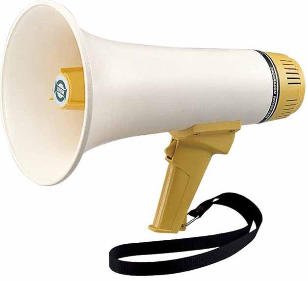 Мегафон - Громкоговоритель - рупор 10 вт