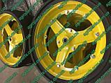 Колесо ga7949 прик. в cборе 4,5х16 с вырезами an281360 глуб 814-173c реборда aa66604, фото 10