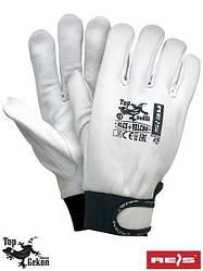 Защитные перчатки из высококачественной козьей кожи RLCS+VELCRO WB