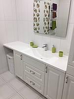 Умывальник со столешницой в ванную комнату с искуственного камня