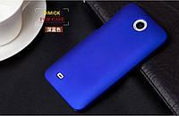Чехол накладка бампер для HTC Desire 300 синий