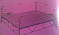 Боксерский ринг на помосте мастерский 6х6